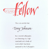 Terry Johnson Calligraphy